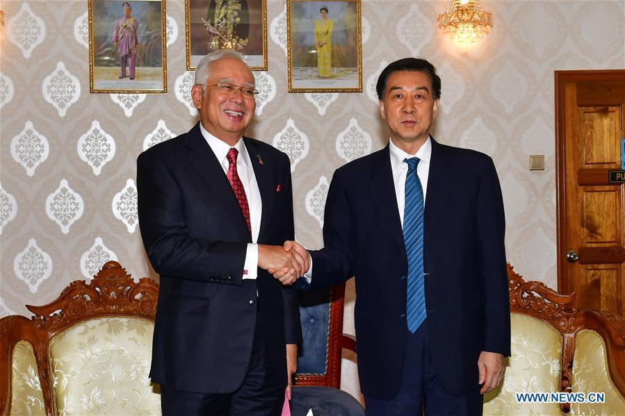 MALAYSIA-KUANTAN-WANG YONG-NAJIB