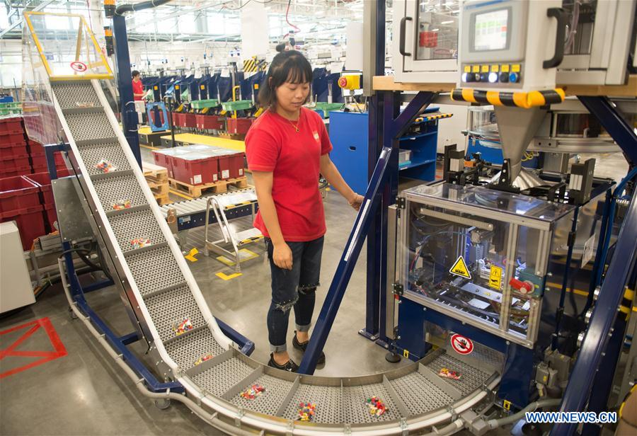 In pics: China Lego Factory, first Lego factory in Asia - Xinhua ...