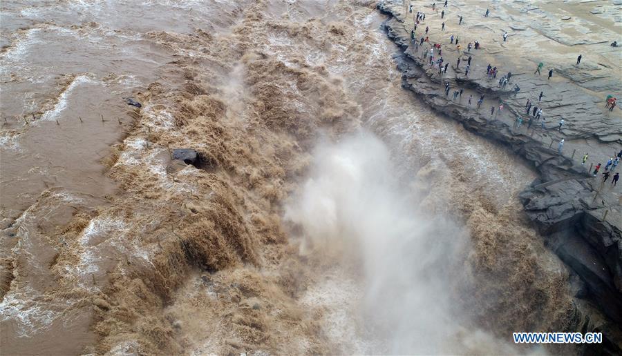 CHINA-SHAANXI-HUKOU WATERFALL (CN)