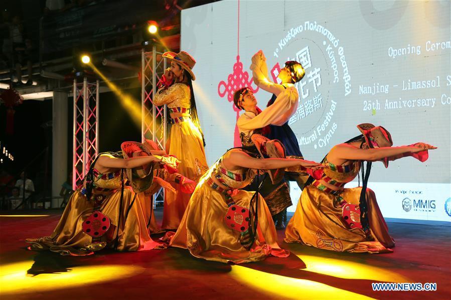 CYPRUS-LIMASSOL-CHINA-CULTURE FESTIVAL