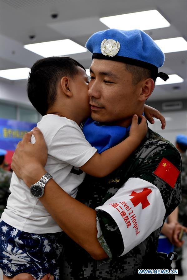 CHINA-ZHENGZHOU-SOUTH SUDAN-PEACEKEEPERS (CN)
