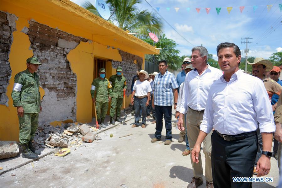 MEXICO-PUEBLA-EARTHQUAKE-NIETO