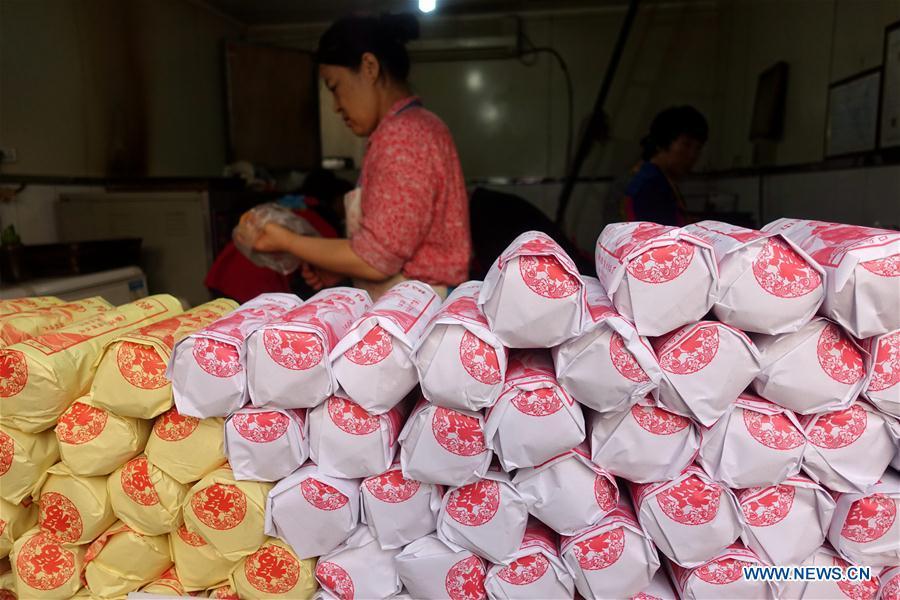 #CHINA-MID-AUTUMN FESTIVAL-MOONCAKE-MAKING (CN)