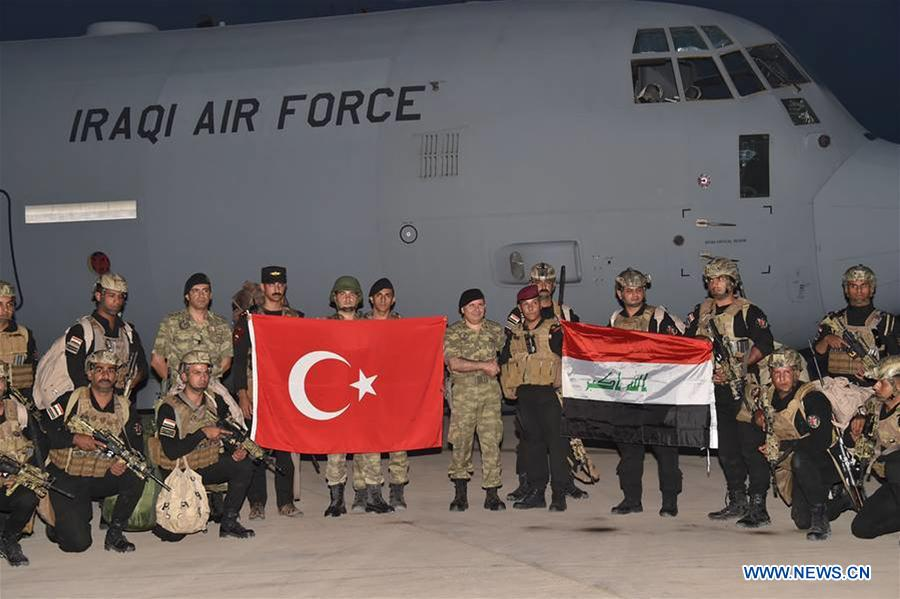 Iraq Turkey Conduct Joint Military Exercises