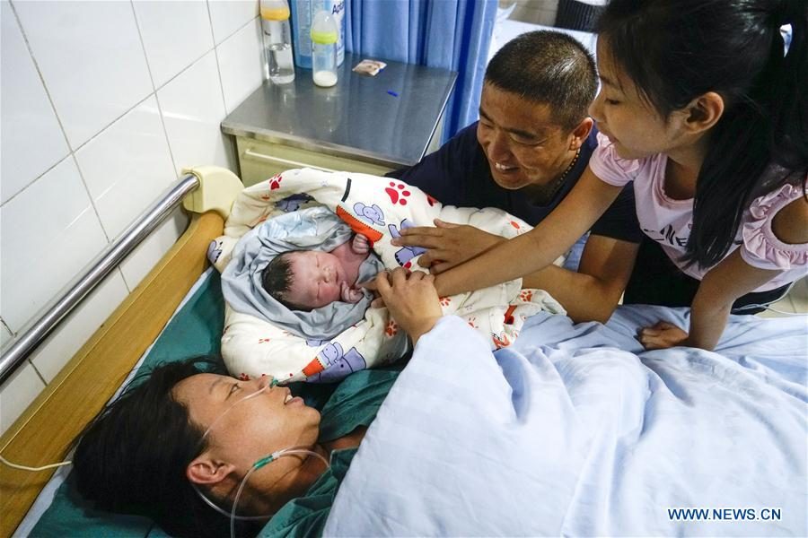 CHINA-HEBEI-XIONGAN NEW AREA-NATIONAL DAY-NEW BORN BABY (CN)