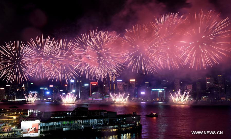 CHINA-NATIONAL DAY-CELEBRATION-FIREWORKS (CN)