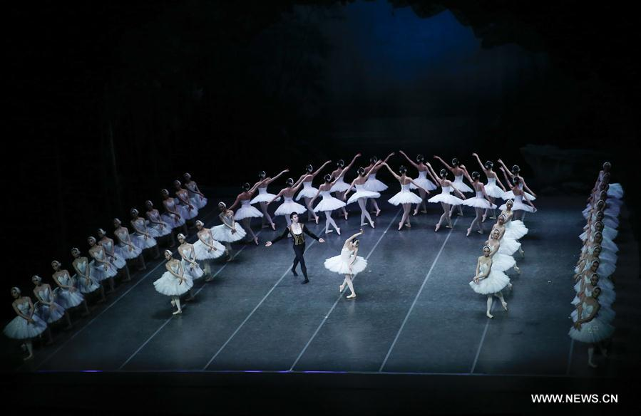 BELGIUM-ANTWERP-CHINA-BALLET-SWAN LAKE
