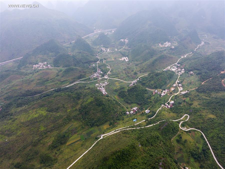 CHINA-GUANGXI-ROAD-POVERTY ALLEVIATION(CN)