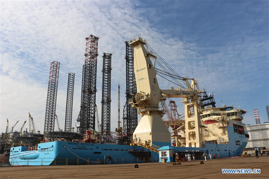 CHINA-LIAONING-DALIAN-ULTRA-ABYSSAL UNDERWATER SUPPORT VESSEL (CN)
