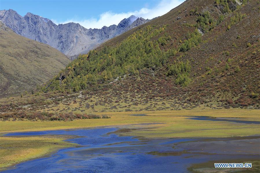 CHINA-SICHUAN-SIGUNIANG MOUNTAIN-SCENERY (CN)