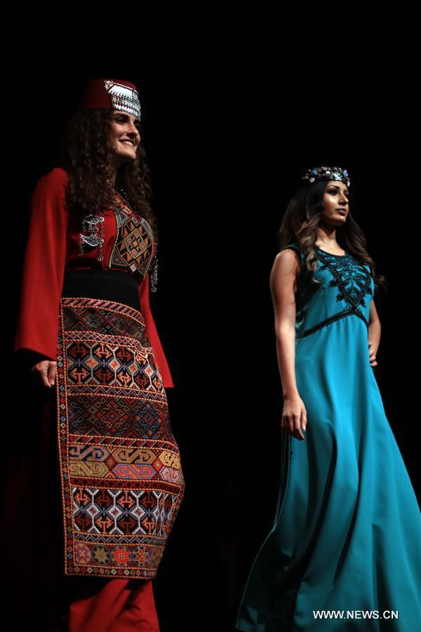JORDAN-AMMAN-ARMENIAN-TRADITIONAL COSTUMES-SHOW