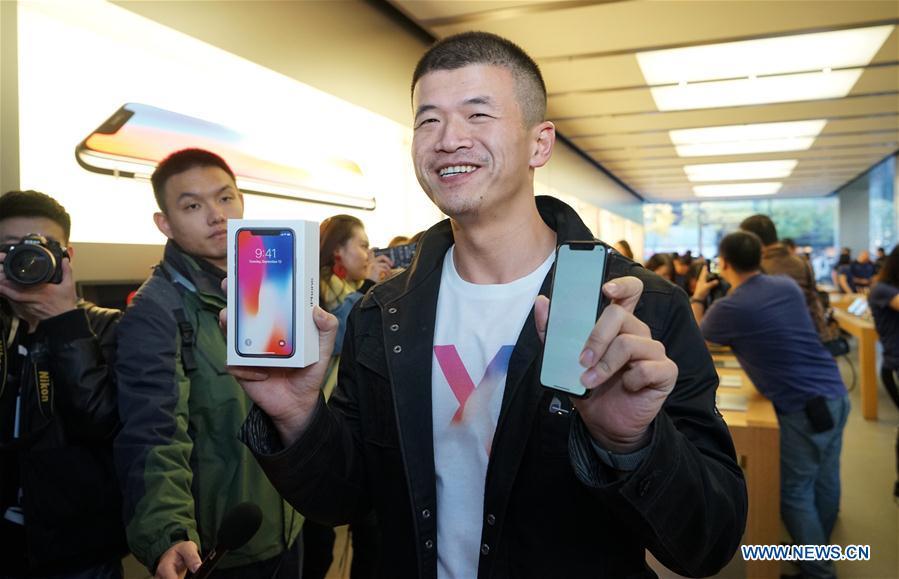 CHINA-BEIJING-IPHONE X-LAUNCH (CN)