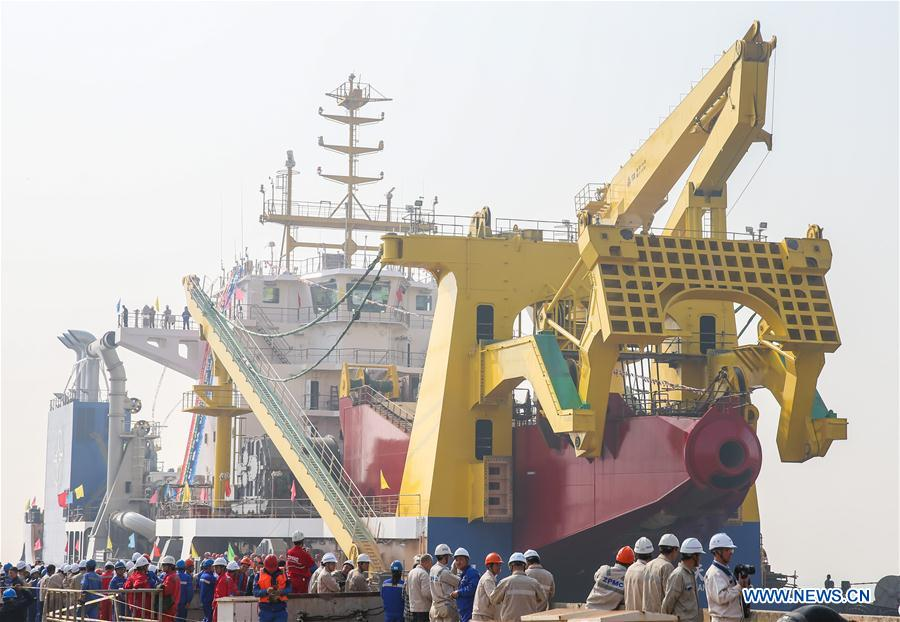 CHINA-JIANGSU-DREDGING VESSEL (CN)