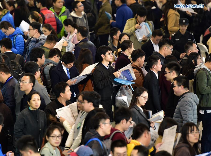 CHINA-BEIJING-RECRUITMENT FAIR (CN)