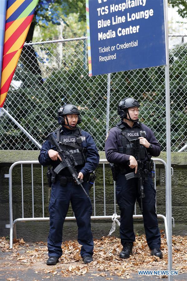 U.S.-NEW YORK-MARATHON-TIGHT SECURITY