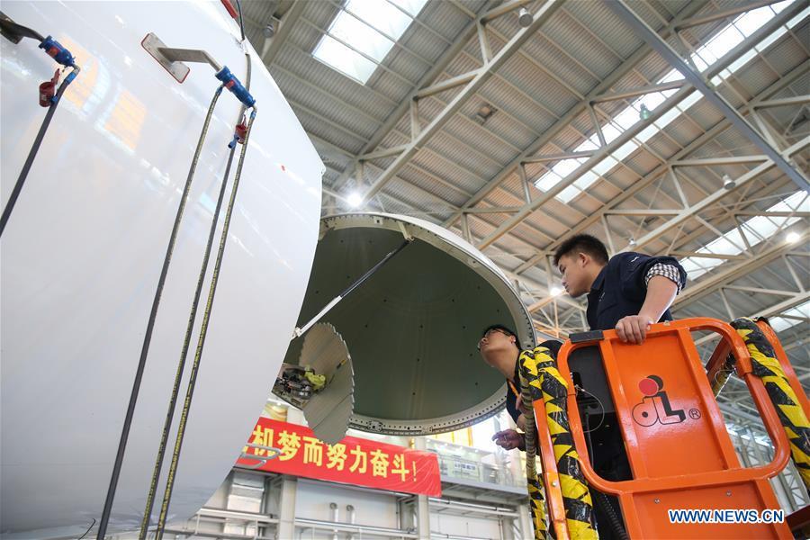 CHINA-SHANGHAI-AIRCRAFT-C919-TEST (CN)