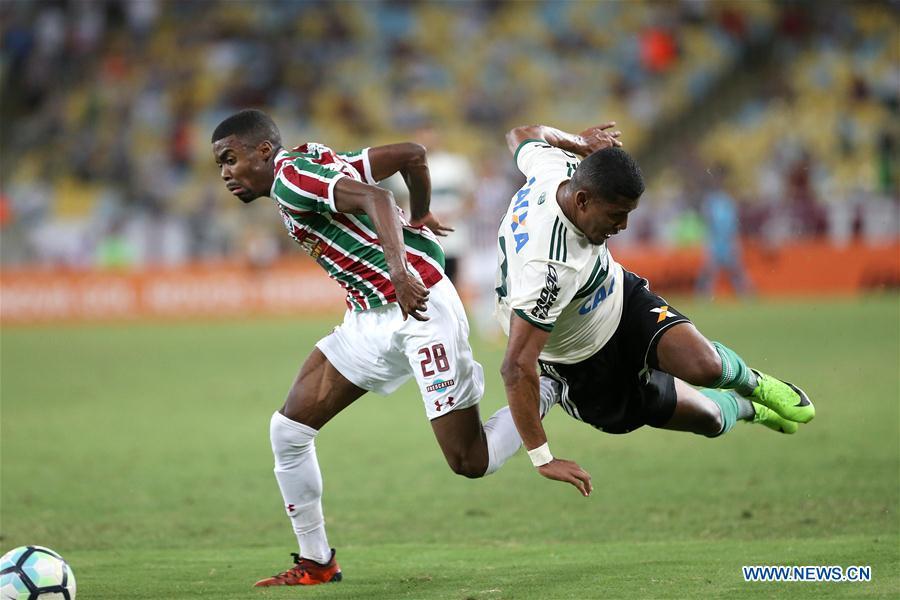 (SP)BRAZIL-RIO DE JANEIRO-SOCCER-SERIE A-FLUMINENSE VS FLAMENGO