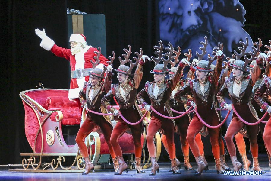 2017 production of Christmas Spectacular show makes its debut in New ...