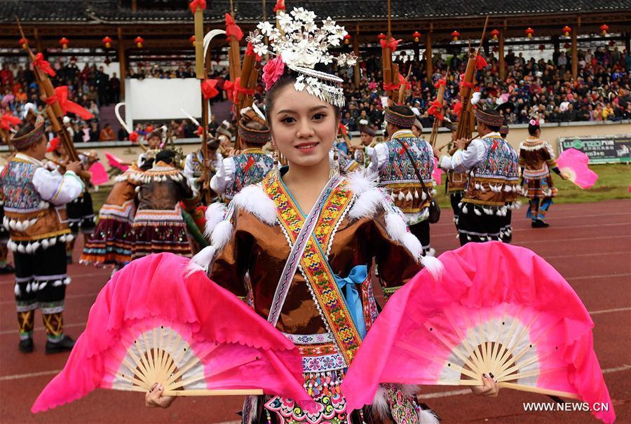 CHINA-GUANGXI-RONGSHUI-FESTIVAL (CN)