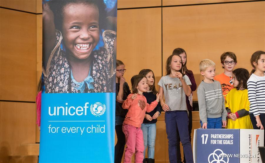 SWITZERLAND-GENEVA-UN-WORLD CHILDREN'S DAY
