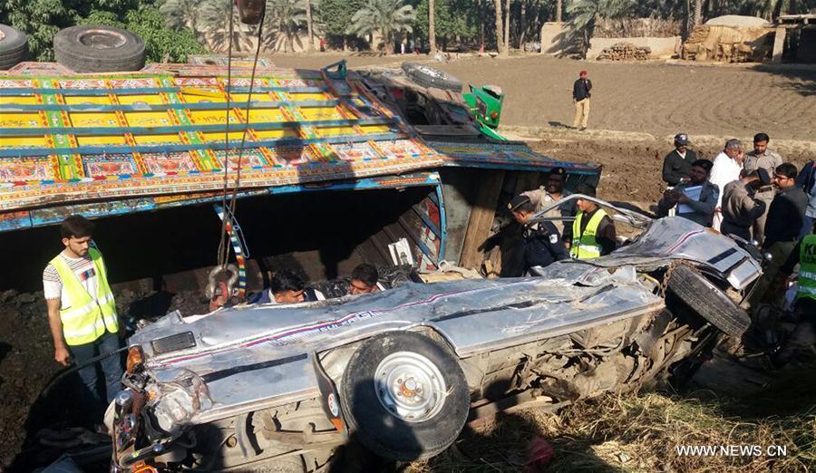 PAKISTAN-KHAIRPUR-ACCIDENT