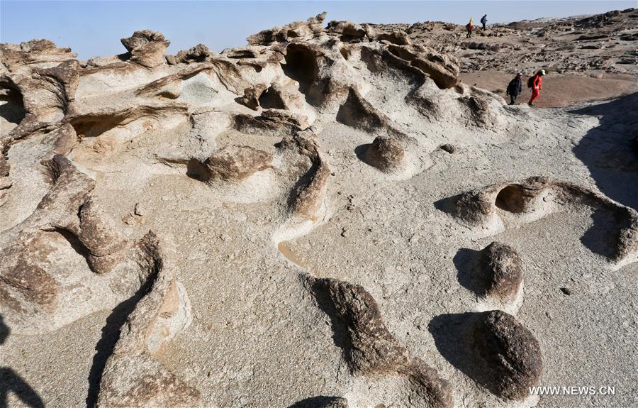 #CHINA-INNER MONGOLIA-GEOLOGICAL LANDSCAPE (CN)