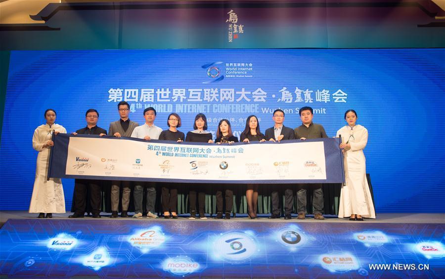CHINA-ZHEJIANG-WUZHEN-WIC-SPONSOR-SIGNING CEREMONY (CN)
