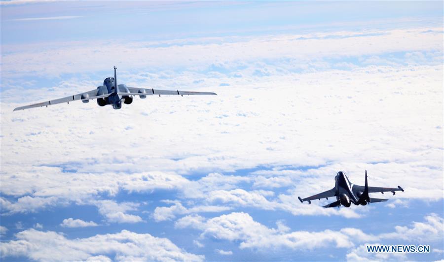 CHINA-AIR FORCE-SOUTH CHINA SEA-PATROL (CN)