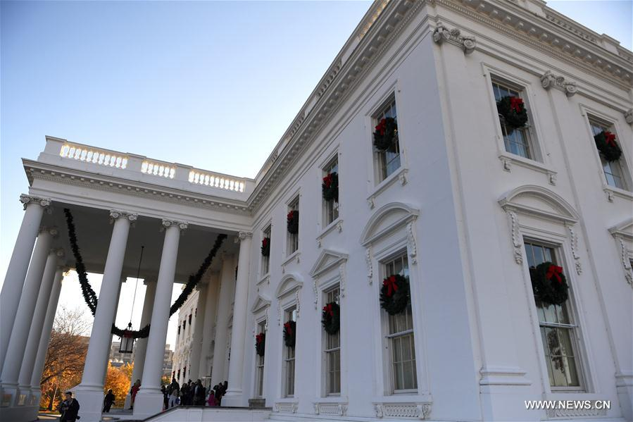 us washington dc white house holiday decoration - When Is The White House Decorated For Christmas 2017