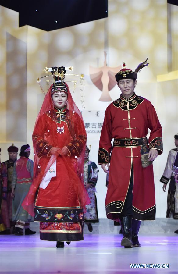 #CHINA-INNER MONGOLIA-MONGOLIAN COSTUME ARTS FESTIVAL (CN)