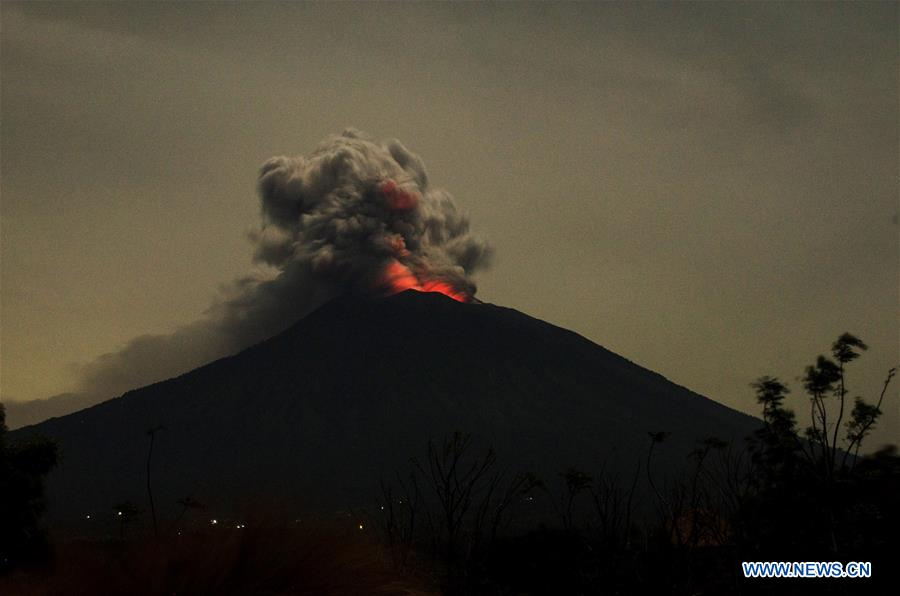 INDONESIA-BALI-MOUNT AGUNG ERUPTION