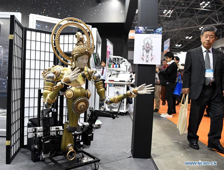 JAPAN-TOKYO-ROBOT