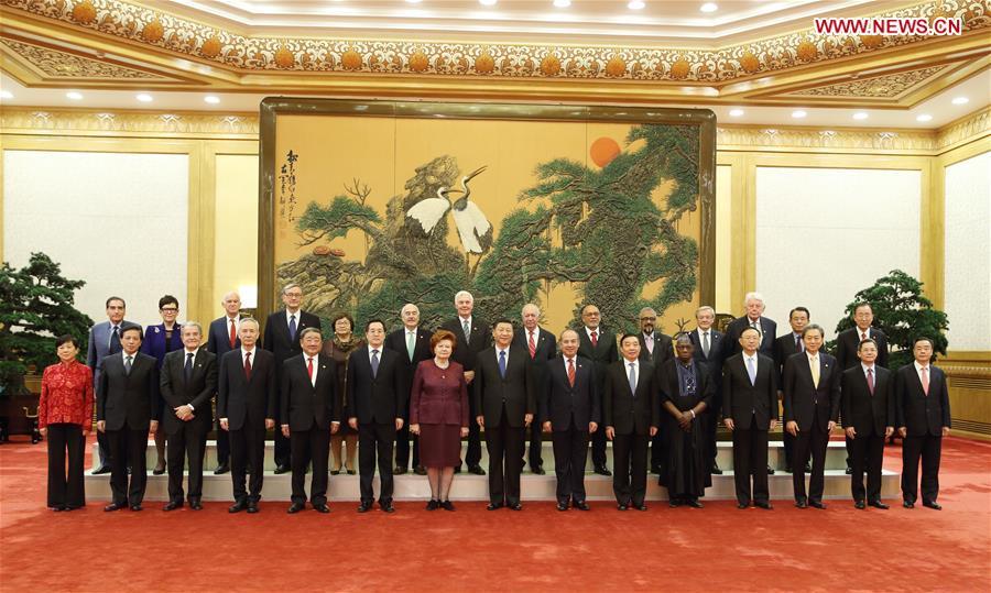 CHINA-BEIJING-XI JINPING-FORUM-MEETING (CN)