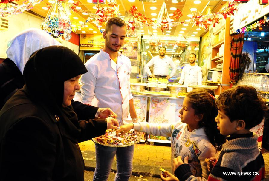 SYRIA-DAMASCUS-ISLAM'S PROPHET-BIRTHDAY-CELEBRATION