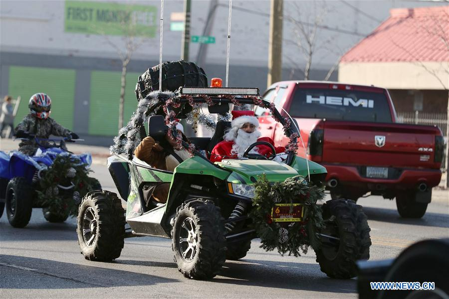 U S Chicago Motorcycle Parade Toys For Tots