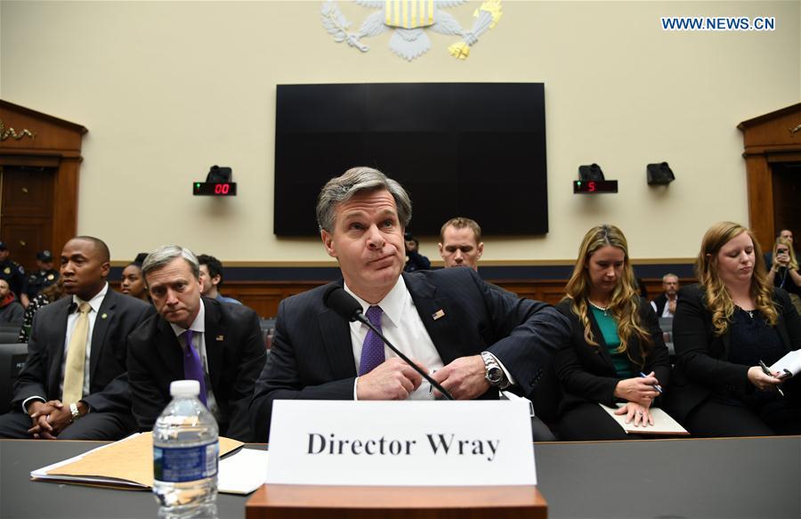 U.S.-WASHINGTON D.C.-FBI-DIRECTOR-WRAY-HEARING