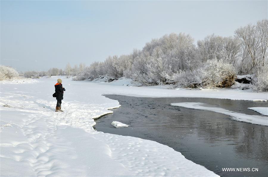 #CHINA-INNER MONGOLIA-HULUNBUIR-SNOWFALL (CN)