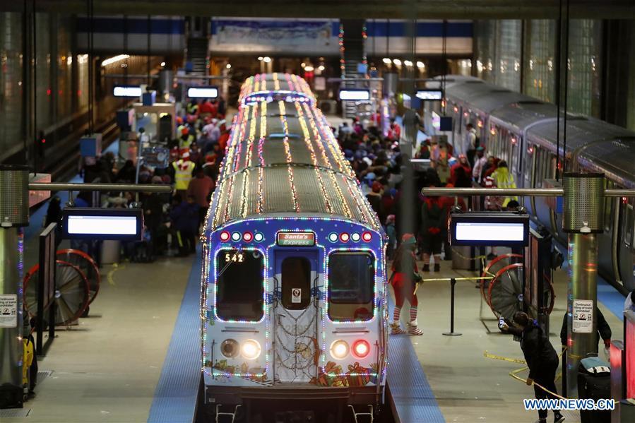 us chicago christmas train - Christmas Train Chicago