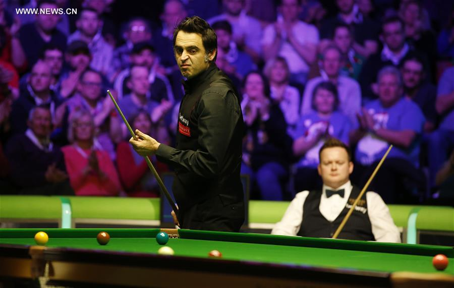 (SP)BRITAIN-YORK-SNOOKER-UK CHAMPIONSHIP-FINAL