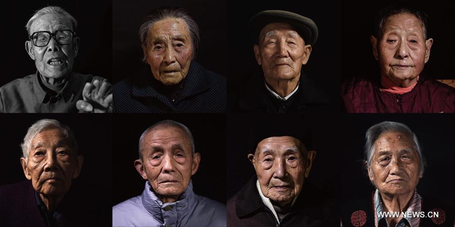 CHINA-NANJING-NANJING MASSACRE SURVIVORS-PORTRAITS (CN)