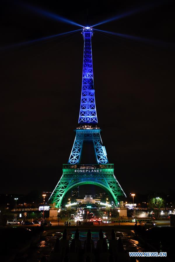 FRANCE-PARIS-ONE PLANET SUMMIT