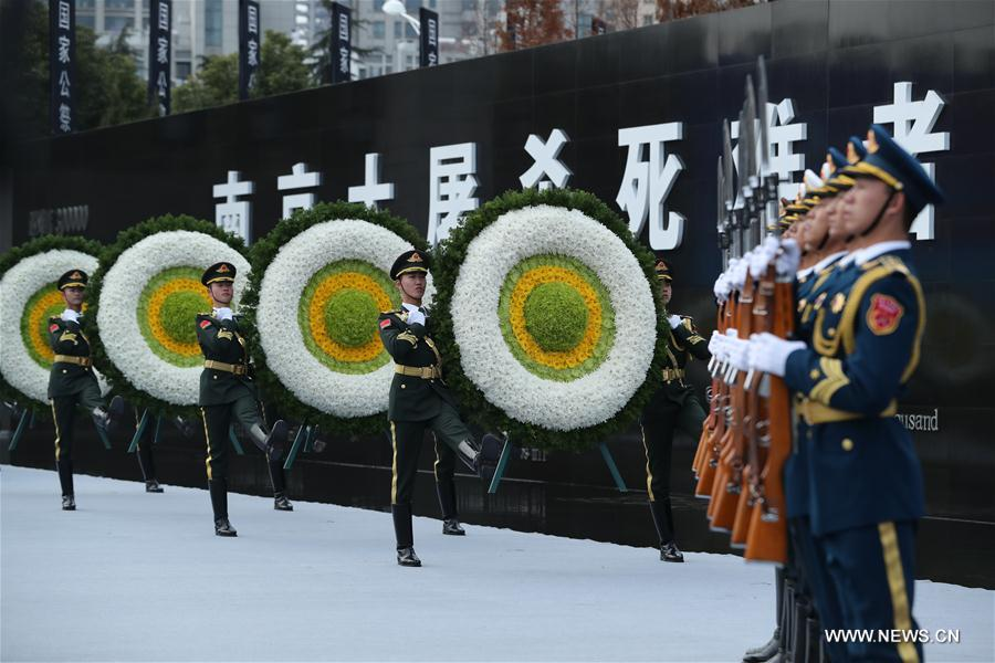 CHINA-NANJING MASSACRE VICTIMS-STATE MEMORIAL CEREMONY(CN)