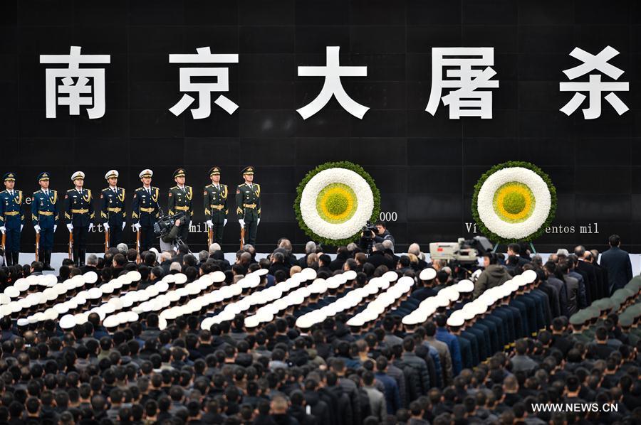 CHINA-NANJING MASSACRE VICTIMS-STATE MEMORIAL CEREMONY(CN)
