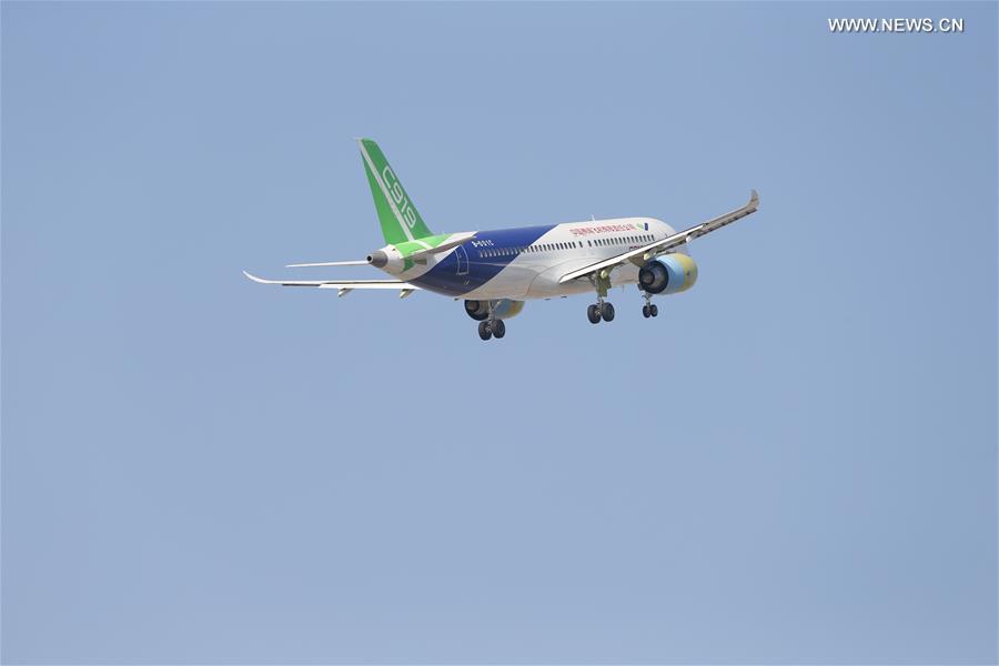 CHINA-SHANGHAI-C919-SECOND PLANE-TEST FLIGHT(CN)