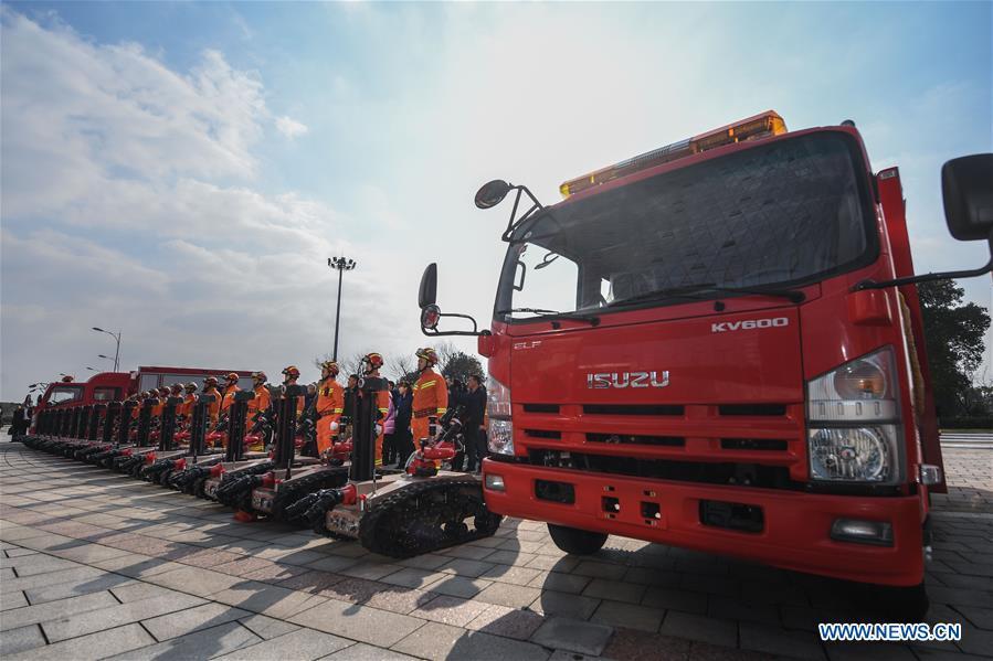 CHINA-ZHEJIANG-NINGBO-FIRE ROBOTS (CN)