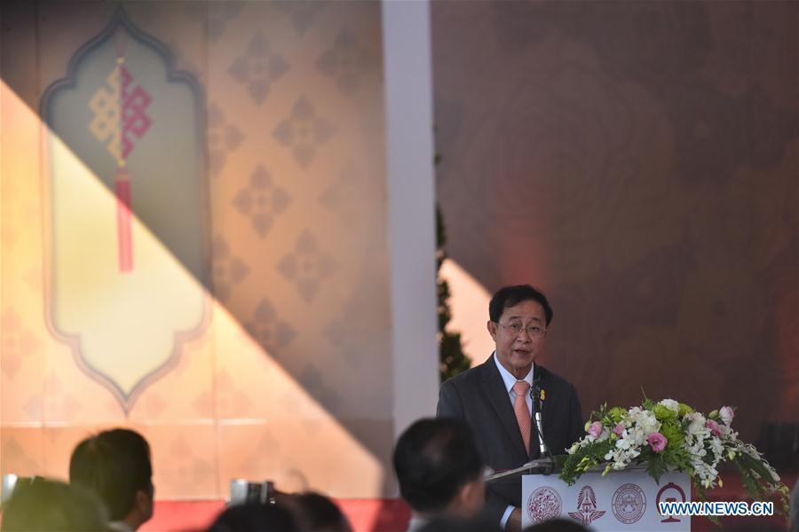 THAILAND-PAK CHONG-CHINA-HIGH-SPEED RAILWAY-INAUGURATION