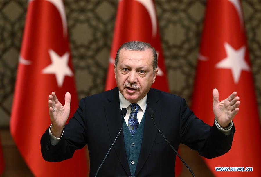 TURKEY-ANKARA-ERDOGAN-JERUSALEM DECISION