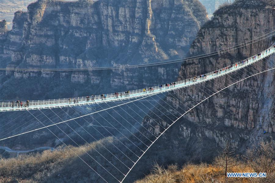 #CHINA-HEBEI-GLASS SUSPENSION BRIDGE (CN)