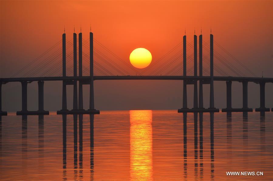 #CHINA-SHANDONG-QINGDAO JIAOZHOU BAY BRIDGE (CN)