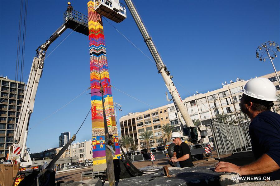 ISRAEL-TEL AVIV-LEGO TOWER